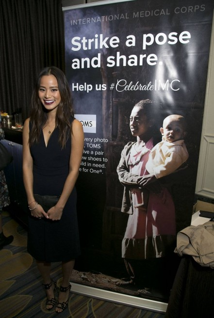 Jamie Chung Supporting The First Responders At International Medical Corps Annual Awards Celebration Jamie Chung