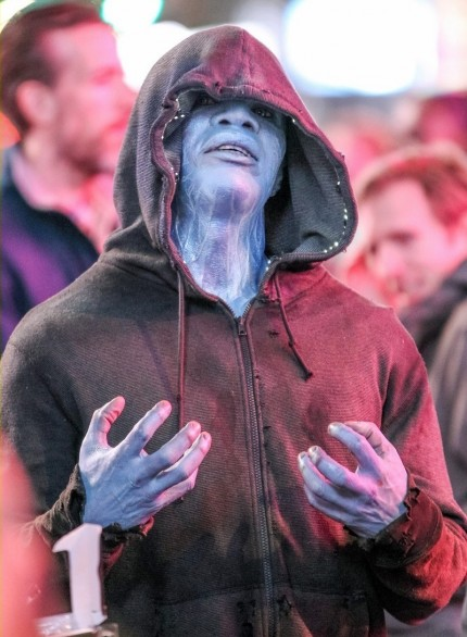 Jamie Foxx As Electro In Amazing Spider Man First Look