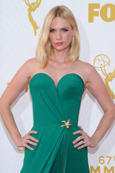 January Jones Emmys January Jones