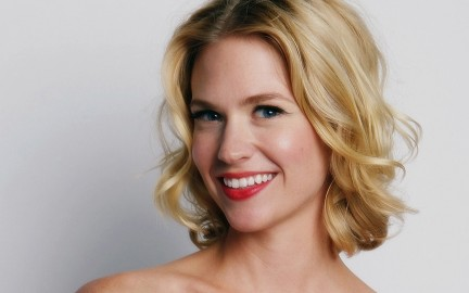 January Jones Red Lips Pictures Wallpaper