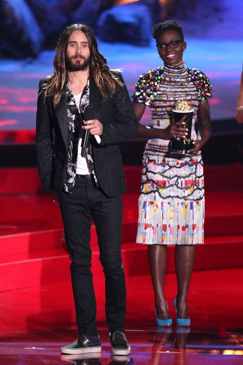 Jared Leto Mtv Movie Awards Onstage Movies