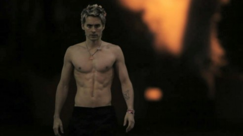 Jared Leto Shirtless Hurricane Jared Leto