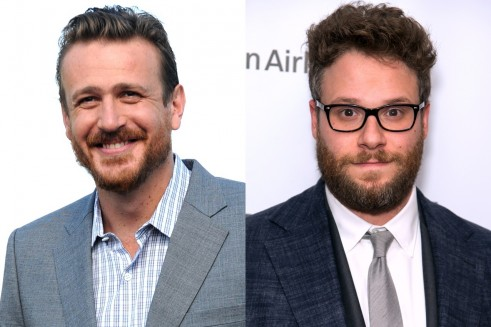 Jason Segel Seth Rogan Splash News Splash News Jason Segel