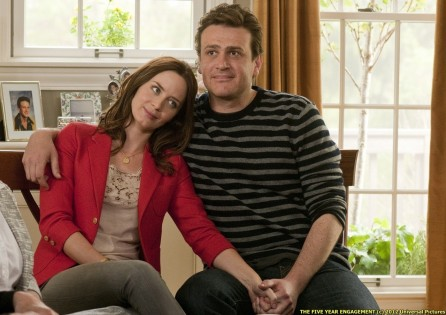 Violet Emily Blunt And Tom Jason Segel Wife