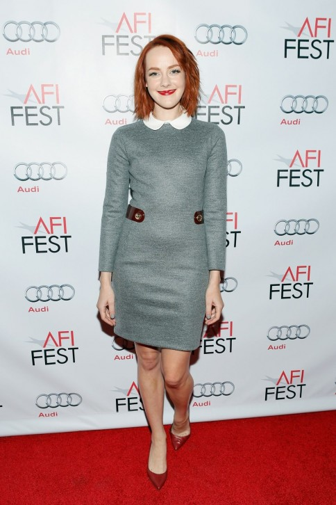 Jena Malone Attends The Afi Fest Two Days One Night Special Screening Theatre In Hollywood