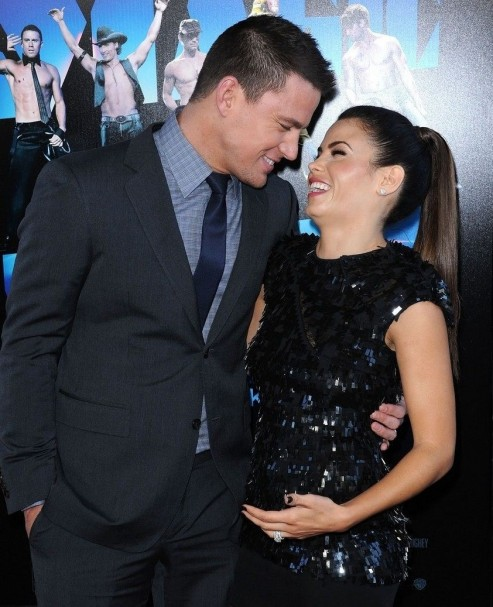 Channing Tatum Jenna Dewan Tatum Channing Tatum Wedding Anniversary Pic Will Melt Your Heart Jenna Dewan Movies