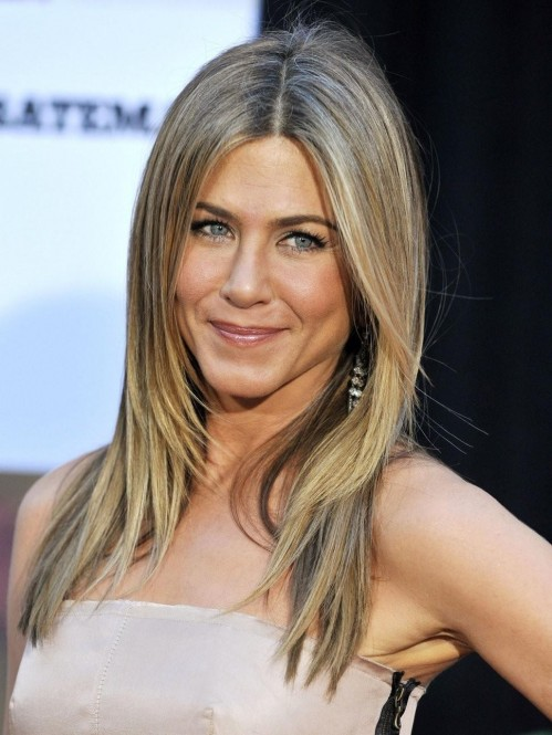 Jennifer Aniston Smile Hair Fa Ea Cae Edc Bfe Fd Large Hair