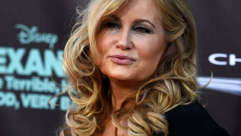 Jennifer Coolidge Beugt Sich Neckisch Nach Vorne Jennifer Coolidge