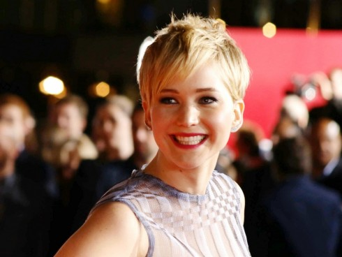 Jennifer Lawrence Named Top Entertainer Of The Year