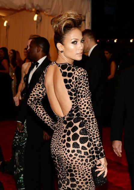 Jennifer Lopez At The Costume Institute Gala In Nyc