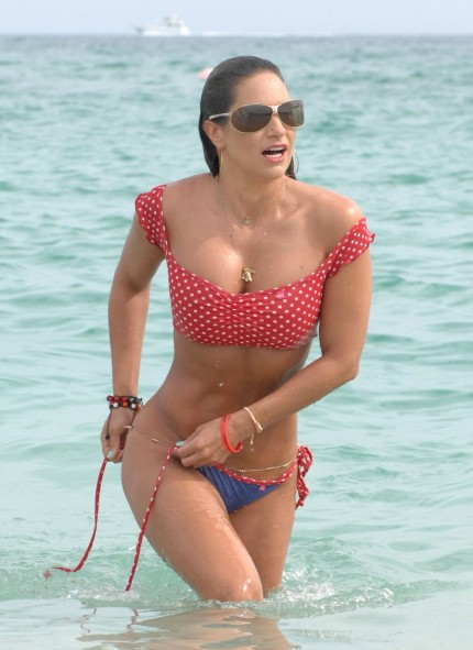 Jennifer Nicole Lee In Bikini At The Beach In Miami January Jennifer Nicole Lee