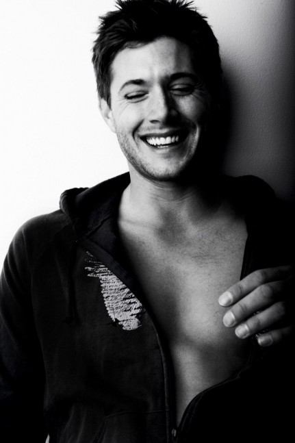 Actor Black Amp White Hot Jensen Jensen Ackles Male Favim Hot Ca Fb Bfa Cc Large Baby
