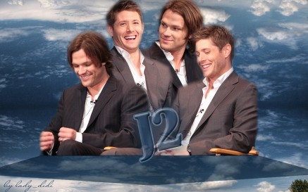 Jared Padalecki And Jensen Ackles And Jared Padalecki