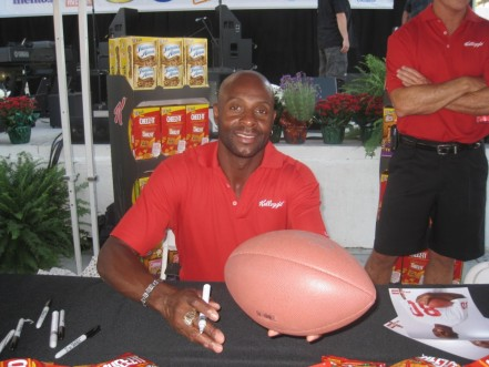 Jerry Rice Autograph Signing Jerry Rice