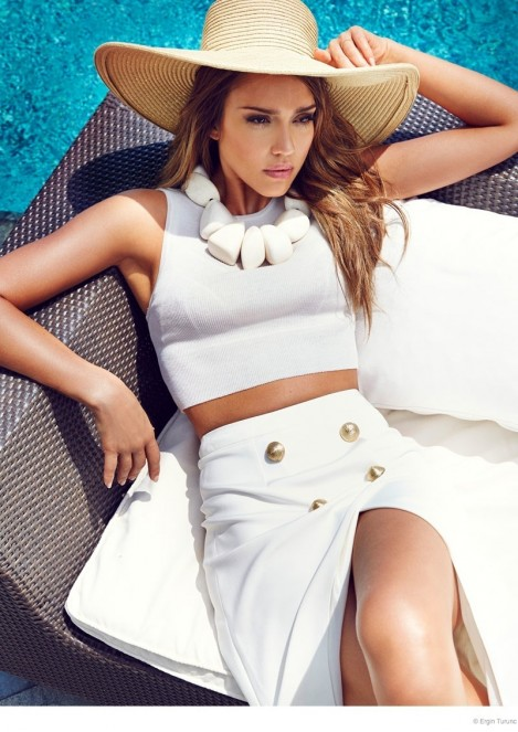 Jessica Alba Cosmo Photo Shoot