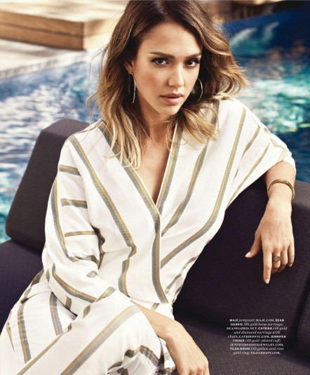 Jessica Alba For More Magazine May
