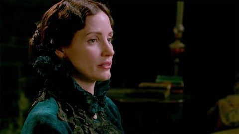 Crimson Peak Jessica Chastain Screengrab Mama