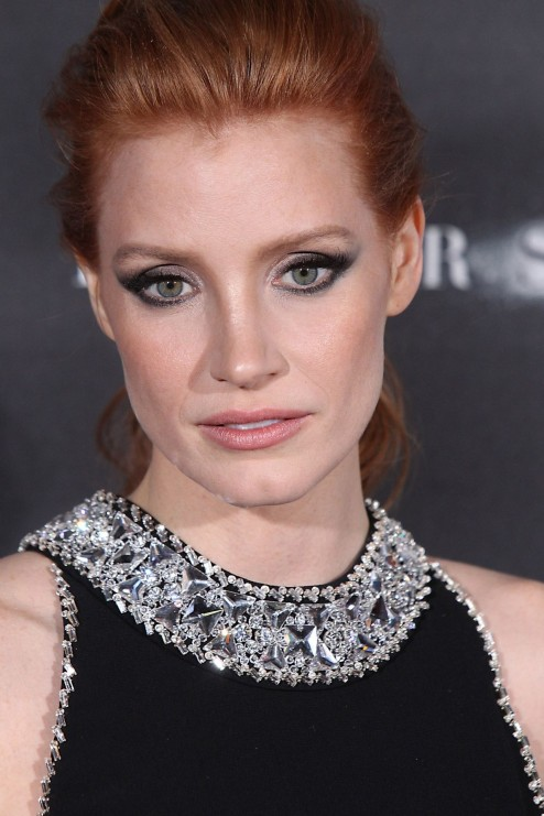 Interstellar Premiere In New York City Jessica Chastain Hot