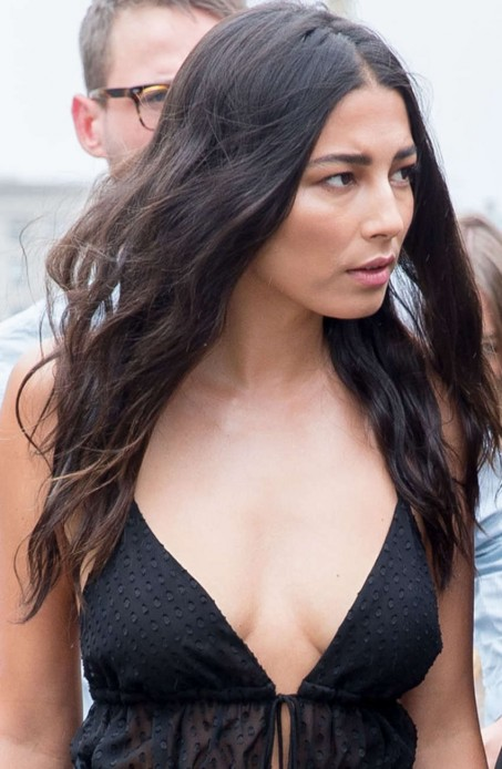 Jessica Gomes Arriving At Heidi Klum Intimates Launch In Sydney