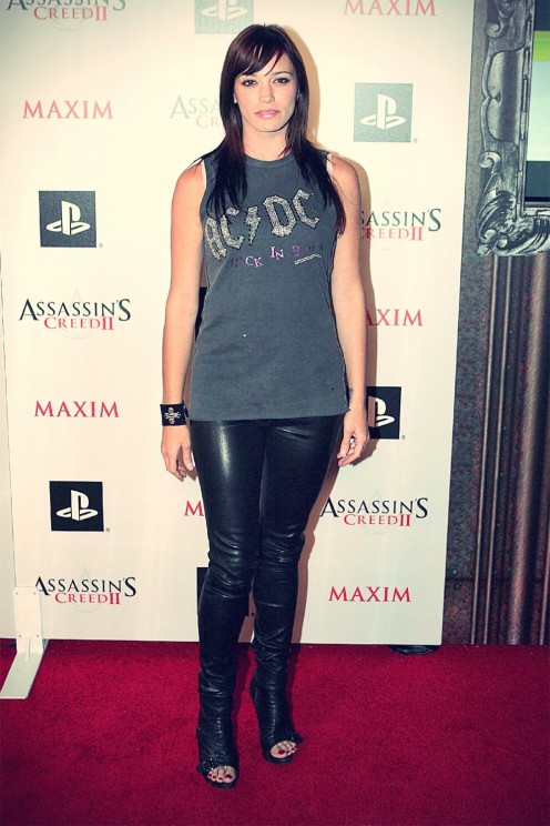 Jessica Sutta At The Launch Party Of Assassins Creed Jessica Sutta
