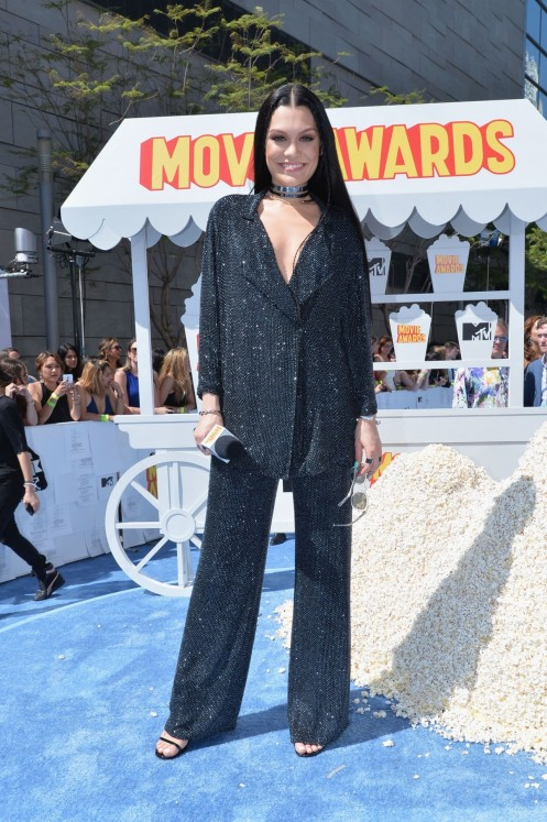 Gallery Showbiz Mtv Movie Awards Jessie J Jessie J