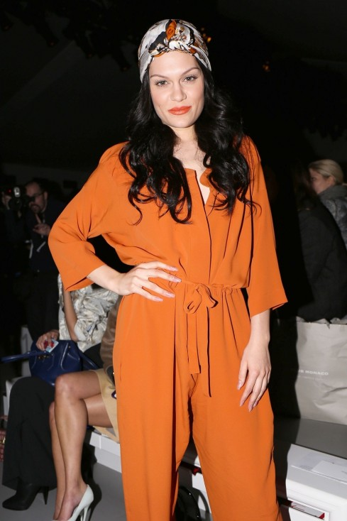 Jessie At The Vivienne Westwood Show London Fashion Week Jessie J