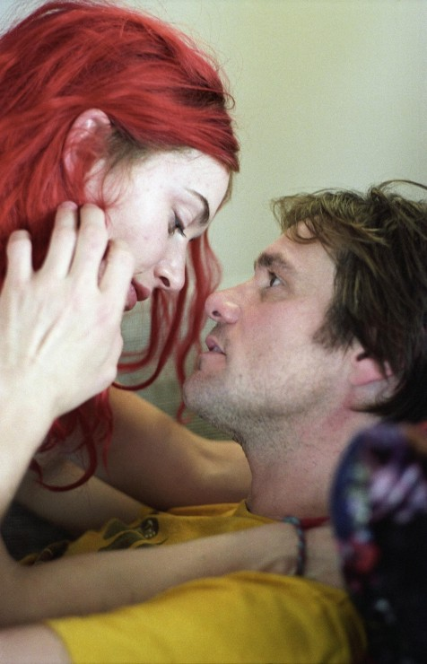 Still Of Jim Carrey And Kate Winslet In Eternal Sunshine Of The Spotless Mind Large Picture Movies