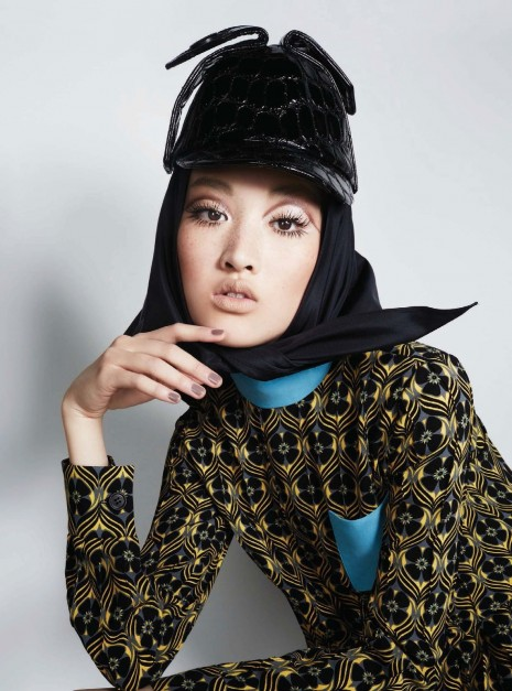 Harpers Bazaar Carine Roitfeld Global Editorial Lindsey Wixson Kitty Hayes Jing Wen By Anthony Maule June July Hot