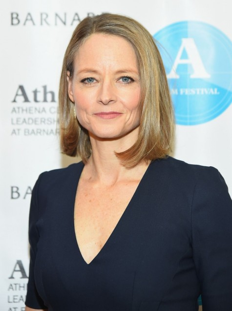 Jodie Foster At Athena Film Festival Opening Night In New York