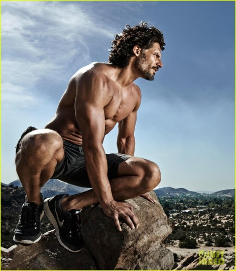 Joe Manganiello Shows Off Shirtless Body For Mens Health Uk Body Copy Joe Manganiello