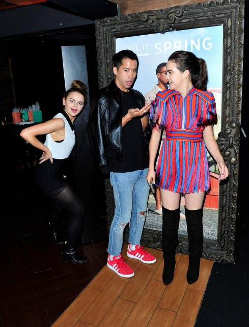 Joey King Bailee Madison Call It Spring Hosts Private Event At Selena Gomez Concert Joey King