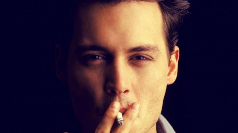 Hd Wallpaper Johnny Depp Actor Person Cigarette