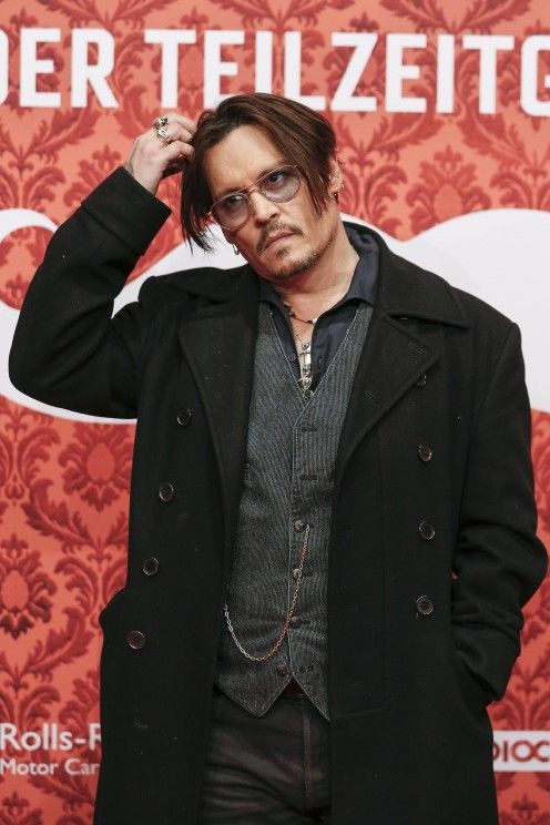 Johnny Depp At Event Of Mortdecai Large Picture
