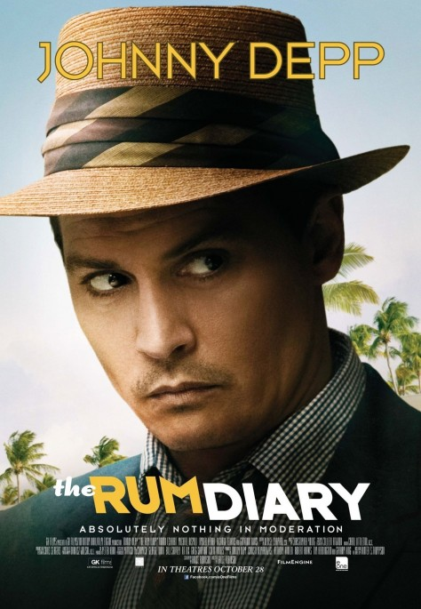 Johnny Depp Poster In The Rum Diary Movies