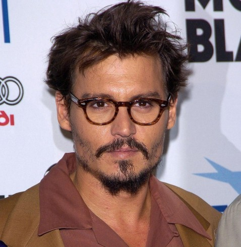 Johnny Depp Untinted Glasses Young