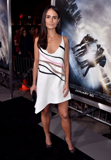 Jordana Brewster Project Almanac Premiere In Hollywood Jordana Brewster