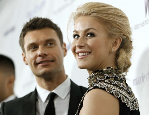 Ryan Seacrest And Julianne Hough Reuters  Footloose