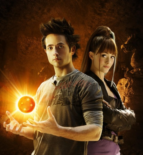 Still Of Emmy Rossum And Justin Chatwin In Dragonball Evolution Large Picture