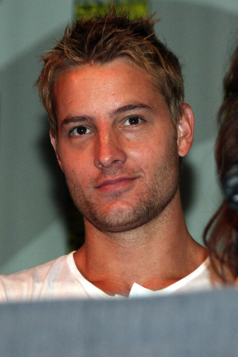 Justinhartley Smallville Panel Comic Con Day Justin Hartley