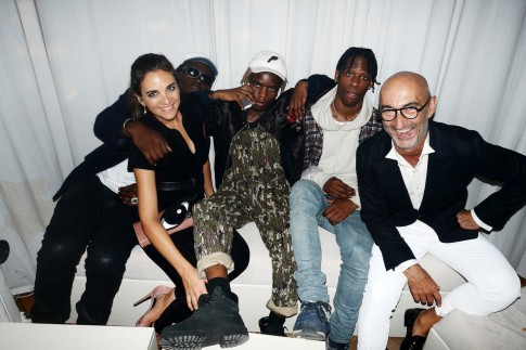 Pierre Hardy Th Anniversary Party Kanye West Paris Fashion Week Style