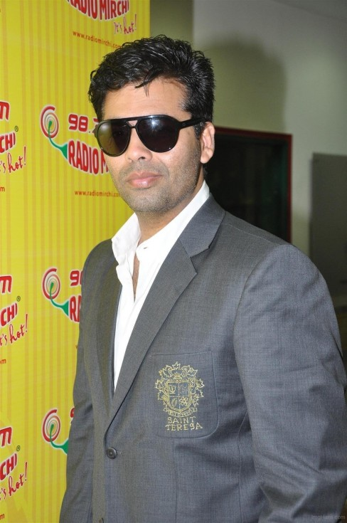 Karan Johar Wearing Black Googles