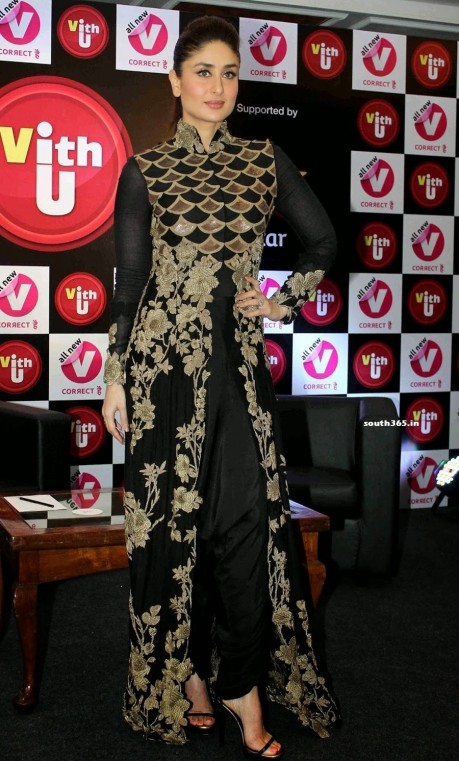 Kareena Kapoor In Black Dress At Women Safety App Vithu Launch Tv