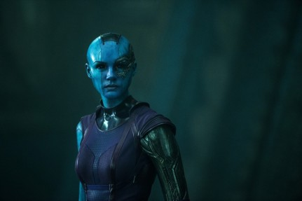 Guardians Of The Galaxy Karen Gillan Nebula Hd