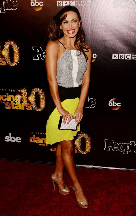 Karina Smirnoff Dancing With The Stars Anniversary Party In West Hollywood Karina Smirnoff