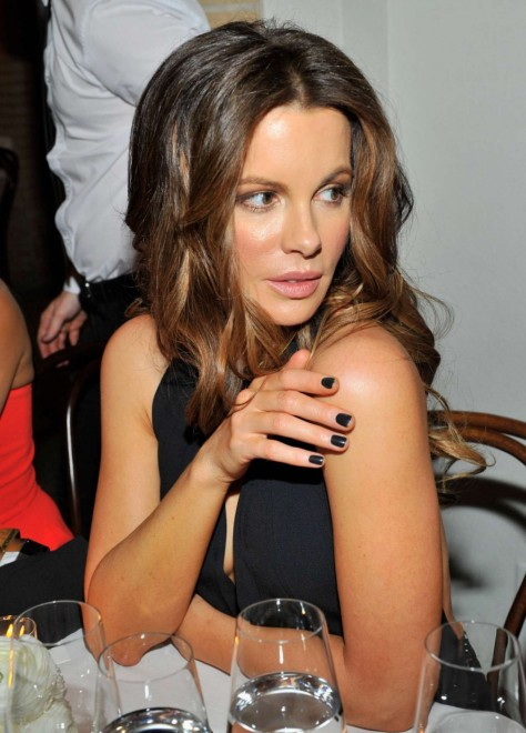 Kate Beckinsale Victoria Beckham Collection Dinner In Beverly Hills