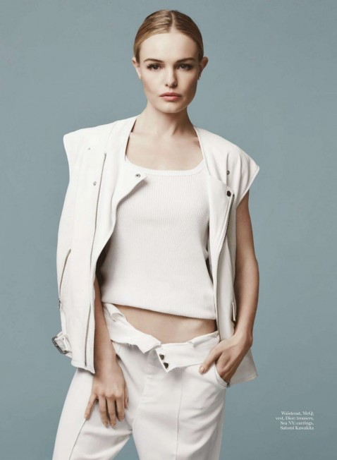 Kate Bosworth Marie Claire Magazine Uk March Issue Hot