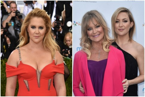 Amy Schumer Goldie Hawn Kate Hudson Kate Hudson
