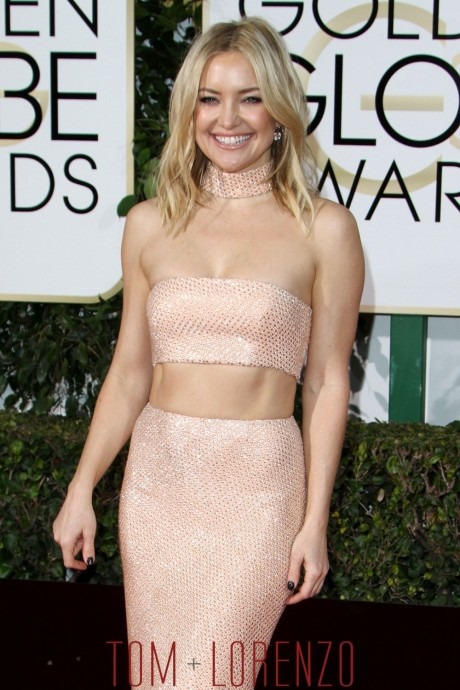 Kate Hudson Golden Globes Red Carpet Fashion Michael Kors Tom Lorenzo Site