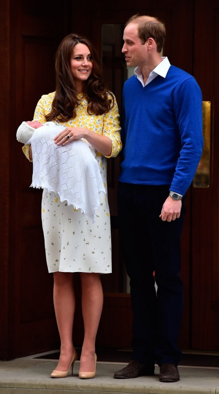 Ba Db Cca Royal Baby Girl Kate Middleton William George Pregnancy Nd