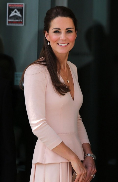 Kate Middleton Pink Mcqueen Dress Kate Middleton